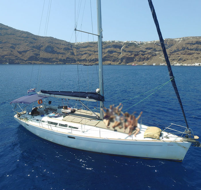 Santorini Exclusive Sailing